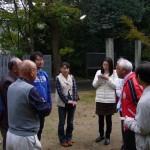 フィールワークで町内の寺社を見学(宇多津町内)