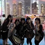 ナイトクルージングで上海の夜景を堪能