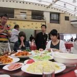 中国で最後の昼食