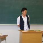 生活介護福祉専攻卒業生  渡邊洋介さん