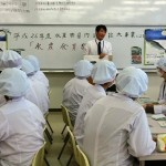 湯谷先生による「香川県のハマチについて」の講話