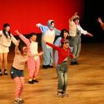 ダンスゼミの「カーニバル」。学生たちの笑顔が弾けました