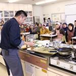 中野先生のデモンストレーション。ポイントを学びました