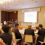 連携事業への取り組みの経緯は企業代表者が紹介しました