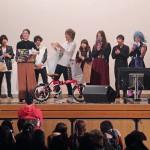 カラオケ大会授賞式