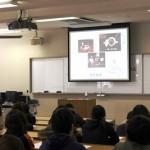 加藤みゆき先生の「お茶と健康」についての講演の様子