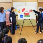 附属幼稚園での栄養指導