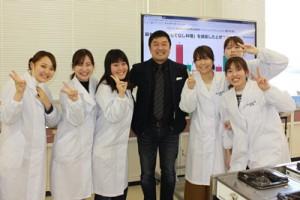 中野先生を囲んで1枚。中野先生ありがとうございました。