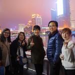 上海外灘にて(1)