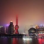 上海外灘浦東サイド