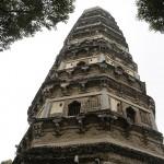 雲岩寺塔の斜塔