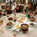 上海最後の夕飯
