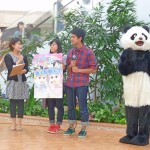 パンダも大学祭をPR