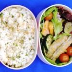かみかみレシピは「柿と水菜のシャキシャキサラダ」