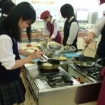 今話題の食材を利用してスィーツ教室体験