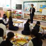 模擬授業体験(子どものおもちゃを作ろう)