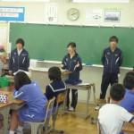 生徒たちからは、福祉に関する質問もたくさんありました