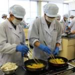 食物栄養専攻ランチフェア