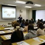 富士ダンボール工業(株)長谷川満様による講義