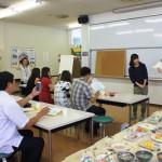 「食育模型SATシステムを使った食事相談」を説明する村川先生