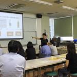 栄養教諭 村井先生の間食指導