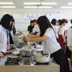 模擬授業:大豆が変身~とうふづくりに挑戦~