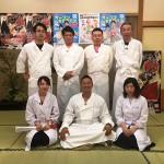 だめんずきっちんのメンバー5人と香川短期大学の教員です