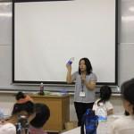 養護教諭の先生方の「小児生活習慣病について」の講義