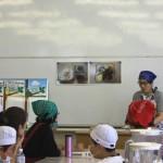 村川講師から本日の調理実習についての説明