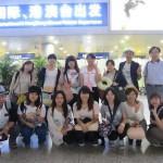 上海を出国する直前に