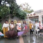 上海動物園でもあいにくの雨でした