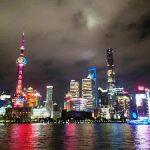 上海の煌めく夜景